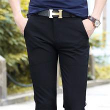 2015春季男士弹力休闲裤男装韩版修身直筒长裤小脚裤96803#