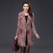 实拍秋装2017新款时尚大码风衣修身显瘦韩版中长款女装外套F018