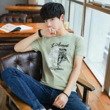 夏季2018新款男士短袖t恤圆领半袖韩版潮流男装早春打底衫上衣939#