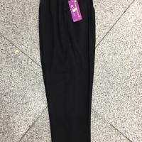 多丽丝黑色九分裤