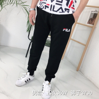 刺绣字母男裤