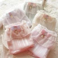 日系甜美风蕾丝内裤