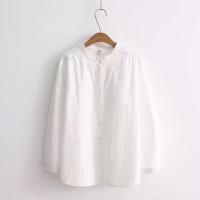 纯棉刺绣衬衫