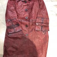 酒红皮衣5099