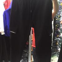 侧方兜女裤