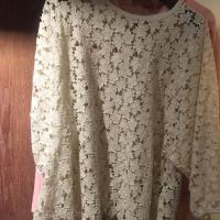 韩国镂空蕾丝上衣