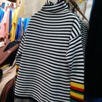 彩虹袖短款
