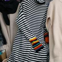 彩虹袖长款