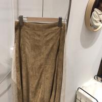 鹿皮绒半裙