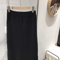 中间杠半裙