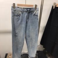 牛仔萝卜裤