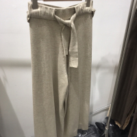 羊毛针织裤