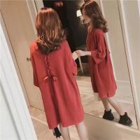 韩版半袖连衣裙