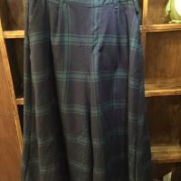 日本磨棉格子裤