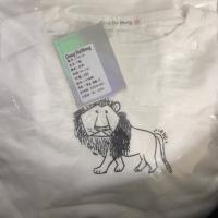 一直奇怪的狮子长T