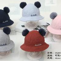 可爱小球盆帽