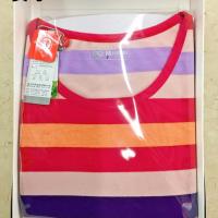 8294志女舒绒条纹圆领套