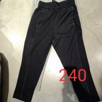 黑色系带运动裤