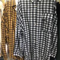 麻棉格子衬衣