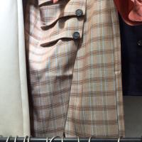 帛兰雅格子半裙
