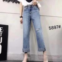 5897女式牛仔裤