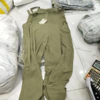 绿色连体裤