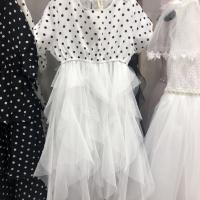 童衣界限圆点纱裙