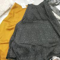 彩色波点半身裙