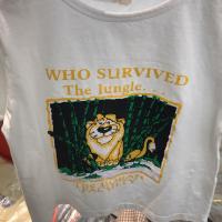 印狮子t恤