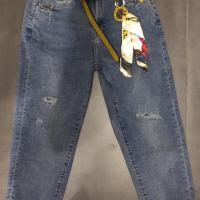2037女式牛仔跨裤
