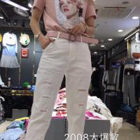 2008女式牛仔跨裤