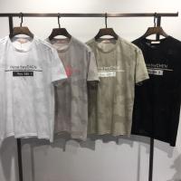 镂空迷彩T恤