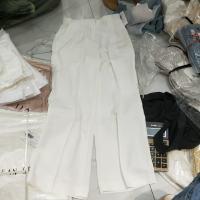 白色直筒裤