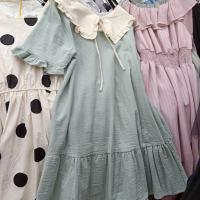 华丽娃娃领裙