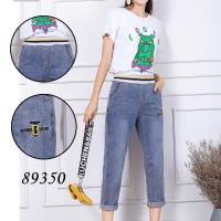 89350女式牛仔八分裤