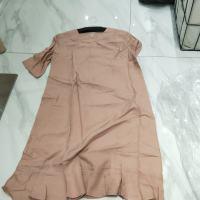 两色鱼尾裙