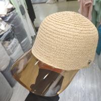 透明鸭舌帽