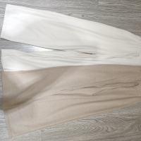 老款针织系带长裤
