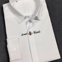 蜜蜂刺绣长衬衫