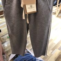 男款织带长裤