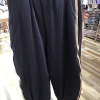 针织织带裤