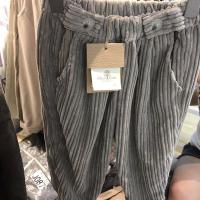 女款打扣裤