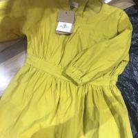 灯芯绒连衣裙