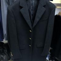 羊毛混紡大衣