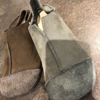 牛皮磨砂鞋