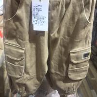 侧边口袋裤