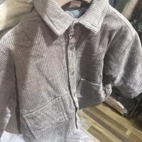 灯芯绒衬衫外套