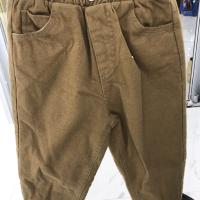 一粒扣夹裤