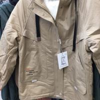 金明妮加棉外套