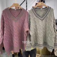 韩国高领毛衣